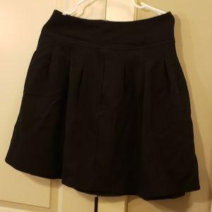 Black Banana Republic Wool Skirt
